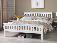 Home Decorating Style 2016 for 68 Luxury Stock Of King Size White Wooden Bed Frame, you can see 68 Luxury Stock Of King Size White Wooden Bed Frame and more pictures for Home Interior Designing 2016 232187 at Bedroom Ideas. White King Size Bed, Wooden King Size Bed, White Wooden Bed, Wooden Double Bed, Super King Size Bed, Wooden Bed Frames, Wooden Beds, Matching Bedding And Curtains, White Bedding