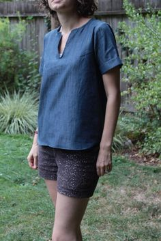 https://flic.kr/p/p2ugxM | Madewell-inspired Scout Tee | Blogged: fakeitwhileyoumakeit.blogspot.com/2014/09/all-grainline-a...