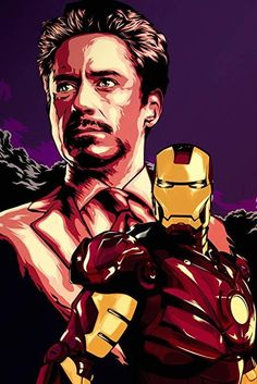 """Iron Man"" by Chris Dalida Iron Man Wallpaper, Tony Stark Wallpaper, Hd Wallpaper, Marvel Comics, Marvel Art, Marvel Heroes, Iron Man Kunst, Iron Man Art, Tony Stark Movies"
