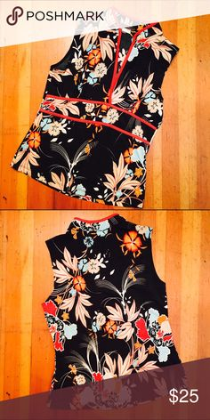 SALE Silky Top Beautiful and in perfect condition. Tag says L but fits like XS/S. Miss Me Tops Blouses