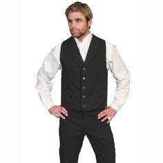 Scully Men's Range Wear Frontier Vest