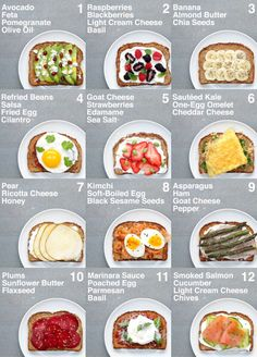 SUPER HEALTHY TOAST (For veganvegetarian plant base and non plant base or vegetarian)You do not. and Drink healthy lunch ideas Food 🥦🍎❤️🥰 Healthy Meal Prep, Healthy Recipes, Healthy Workout Meals, Easy Healthy Lunch Ideas, Healthy Breakfast Recipes For Weight Loss, Diet Recipes, Healthy Nutrition, Healthy Kid Lunches, Healthy Snack Foods
