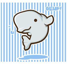 Drawing Kawaii Beluga Whale