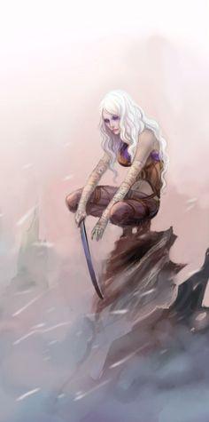Elf slave, wat do? • (Request) Elven Ice Sorceresses (Also a little nod...