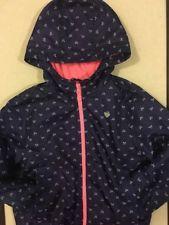Carters Girls Hooded Jacket Size L/6X, WindBreaker, Rain Repellent