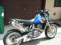 DR 650 tracker moto