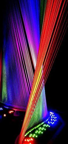 Rainbow Light Harp -=- Magnificent & Impressive !! ♡ ❤