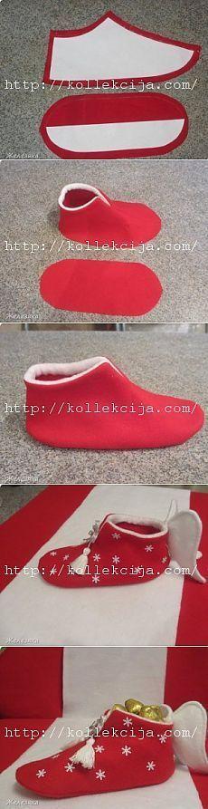 zapato de la navidad las manos revista online