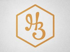 HB ... Honey ... Bee logo