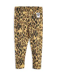 Basic leopard leggingsit, beige | katoko