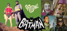 I love watching Batman as a kid. I watch it now and it is so silly. The acting is not the greatest. But oh the memories of watching Batman!