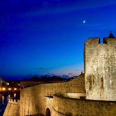 The medieval walls of Dubrovnik