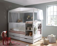 Le lit évolutif pour permettre à bébé d'avoir une chambre toujours au top (à  moindre coût). Chez Vert baudet
