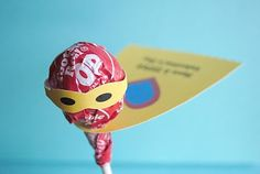 lollipop idea Superhero theme