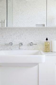 Beautiful Bathrooms, Powder Room, Sink, Bathtub, Chameleon, Interior, House, Home Decor, Sink Tops
