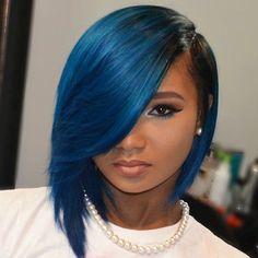 Yara wig by Bobbi Boss  [cut & styled bob]