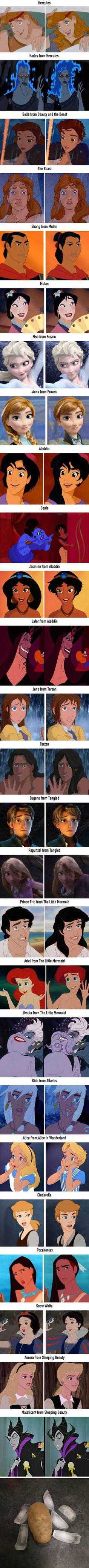 26 Gender-Bending Disney Characters That Actually Look Nice