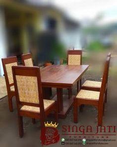 Jual Meja Makan Antik Kayu Jati Utuh Outdoor Furniture Sets, Outdoor Decor, Home Decor, Decoration Home, Room Decor, Interior Design, Home Interiors, Interior Decorating