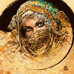 Prima Mobilia XXI  Art Print  by Karol Bak. Great detail on the eyes.