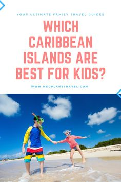 Not all kid-friendly destinations are created equal. Learn which Caribbean islands are the most safe, engaging, and fun for kids. And don't worry - the adults will love them, too! #Caribbeantravel #familytravel #luxuryfamilytravel #caribbeanwithkids El Yunque Rainforest, Kid Friendly Vacations, Grace Bay Beach, Airplane Travel, Beaches In The World, Don't Worry, Travel Guides, Trip Planning, Family Travel
