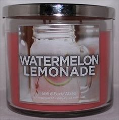 Bath & Body Works Watermelon Lemonade Candle