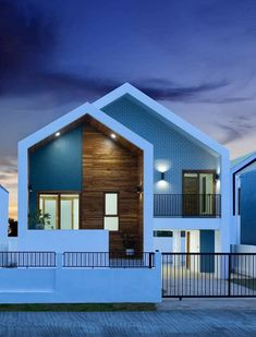 2 Storey House Design, House Front Design, Design Your Dream House, Hotel Design Architecture, House Architecture Styles, Modern Architecture, Japanese Modern House, Home Modern, Minimal House Design