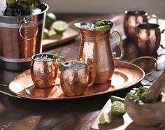 What's the first thing guests do (after greeting the fabulous hostess, of course) when they arrive at a party? Whether there's a crock-pot filled with spiced cider or a wonderful selection of wines to choose from, guests head straight for the drinks!