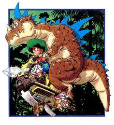 Gohan, Dragon Ball Z, by Akira Toriyama