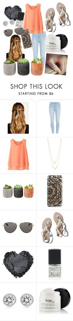 """""""Summer lovin"""" by kate-peters22 ❤ liked on Polyvore featuring Natasha, Paige Denim, Uniqlo, Jennifer Zeuner, Shop Succulents, Casetify, The Row, Abercrombie & Fitch, Lane Bryant and Michael Kors"""