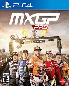 Get MXGP Pro release date (Xbox One, cover art, overview and trailer. Journey back to the track with MXGP Pro, the official videogame. Become a Motocross legend with the most authentic experience yet, and test your racing skills against a reimagined AI. Monster Energy Supercross, Honda, Xbox One Games, Playstation Games, Ps4 Games, Nintendo Wii, Videogames, Cool Things To Buy, Feelings