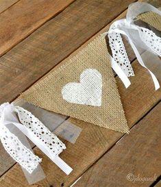 30 Ideas For Simple Bridal Shower Ideas Burlap Simple Bridal Shower, Bridal Shower Rustic, Bridal Showers, Baby Showers, Wedding Bunting, Diy Wedding, Garden Wedding, Wedding Cakes, Wedding Rustic