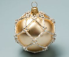 Ornament with Seed Beads Pattern - Fire Mountain Gems & Beads