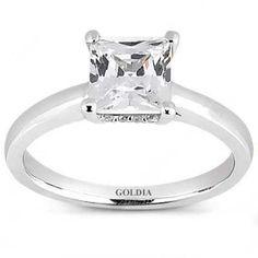 Not planning wedding but when i do... Love it!   2.00 Ct. Designer Princess Cut Diamond Engagement Ring