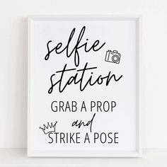 Bridal Shower Photos, Best Selfies, Wedding With Kids, Photo Booth Props, Strike A Pose, Sign Design, Encouragement, Poses, Signs