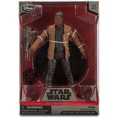 Disney Store Star Wars: The Force Awakens Elite Series Die Cast Action Figure - 7 1/2'' Finn