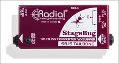 Radial StageBug™ - SB-15 High Performance Signal Buffer