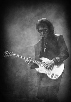 Tony Iommi. The man who invented metal.