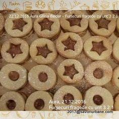 Fursecuri fragede cu unt 3 2 1 | Savori Urbane Unt, Nutella, Mochi, Doughnut, Cookie Recipes, Biscuits, Sweets, Candy, Cookies