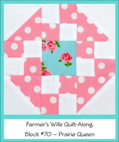 Craft Sew Create: Farmer's Wife Friday