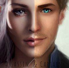 Celaena and Chaol                                                                                                                                                                                 More