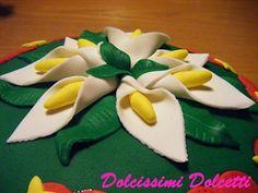 Flowers cake - Torta al pistacchio fiorita...