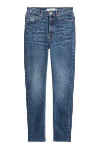 Slim Ankle High Jeans   Denim blue   SALE   H&M DE