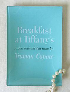 Breakfast at Tiffany's tray.