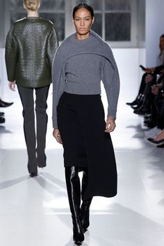 Balenciaga Fall 2014 Ready-to-Wear Fashion Show - Joan Smalls (IMG)