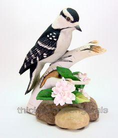 BOEHM Porcelain Figurine DOWNY WOODPECKER   40207