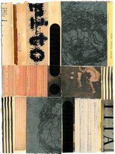 "https://flic.kr/p/Fb7JdX | 160409: The Twist | 12x9"" book collage on paper"