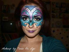 Masquerade venetian ball makeup