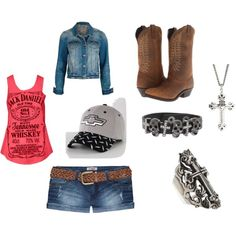 """chevy girl"" by friesianloverforever on Polyvore"