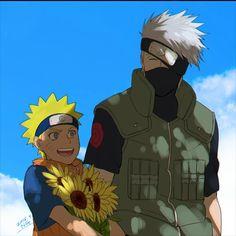 NARUTO Naruto and Kakashi