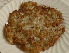 Cycle 1 Mock Potato Pancakes (spaghetti squash)